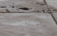 travertine cleaning and restoration