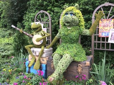 Epcot Flower Garden Festival 2014