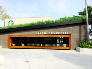 Review Starbucks in Downtown Disney