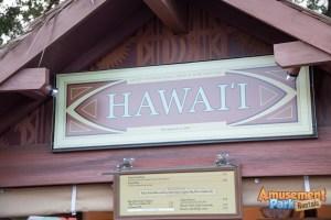 Epcot International Food and Wine Festival 2014 - Hawaii