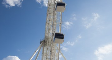 Nik Wallenda Walks on Moving Orlando Eye – April 29th