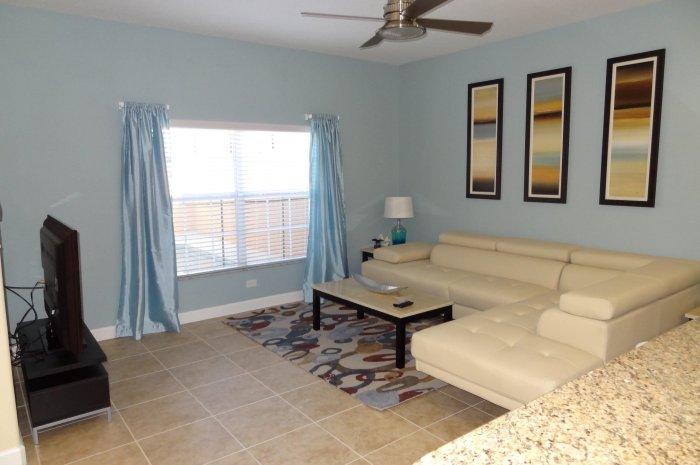 living room 4B townhome