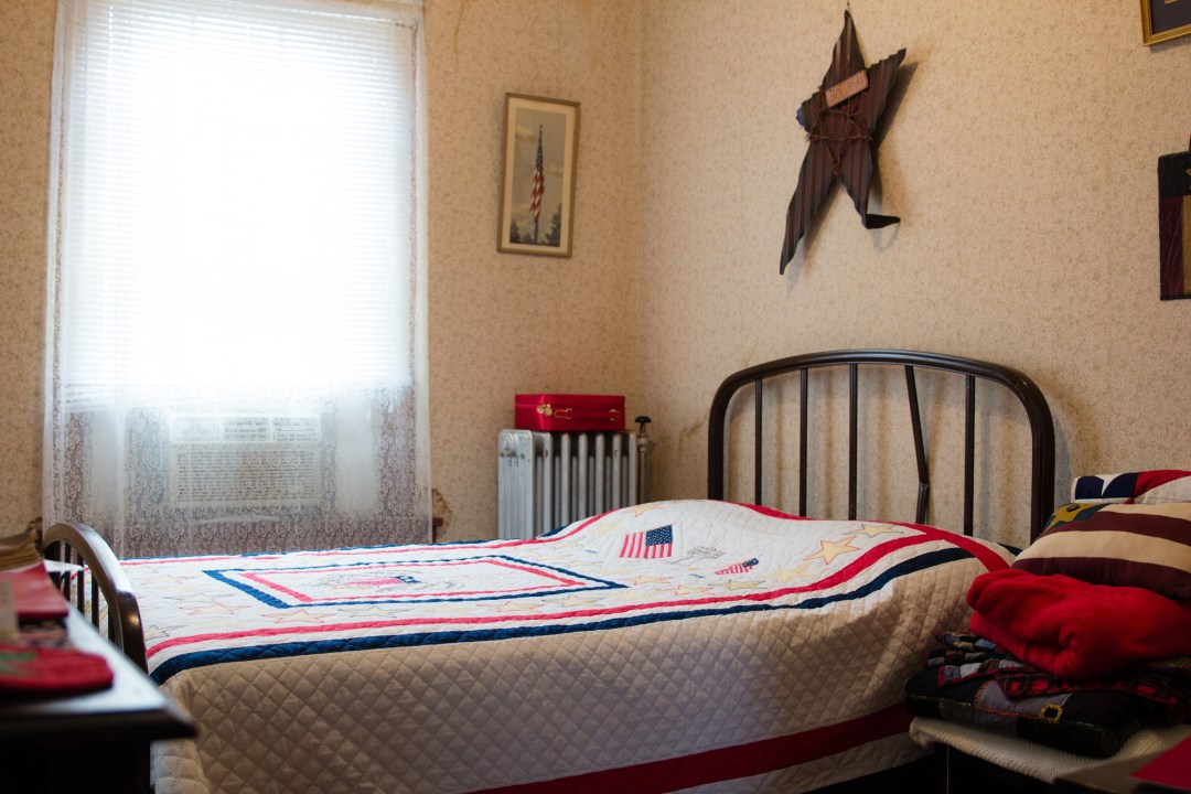Red, White and Blue Room