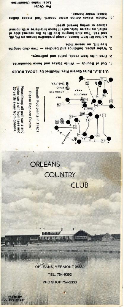 Antique Scorecard 3