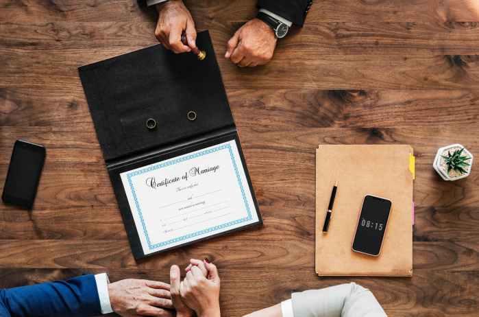 Rozdzielność majątkowa – bez umowy małżeńskiej