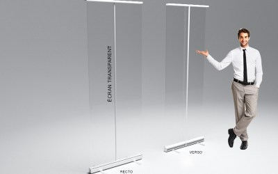 COVID-19 – Paroi PVC transparente
