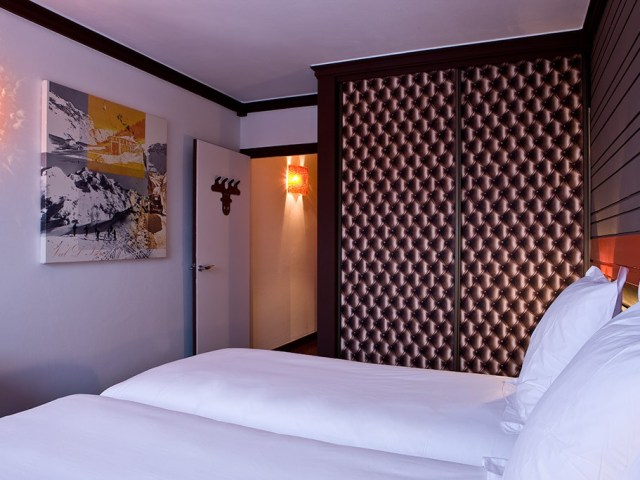 Hotel Ormelune Val d'Isère - Chambre Twin