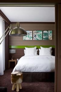 Hotel Ormelune Val d'Isère - Chambre XL - Chambre Grand Lit