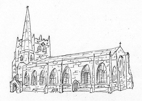 Ormskirk Heritage Trail - The Parish Church