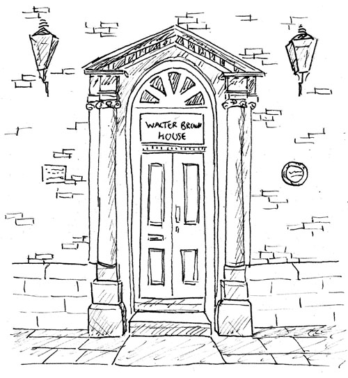 Ormskirk Heritage Trail - Georgian Town House