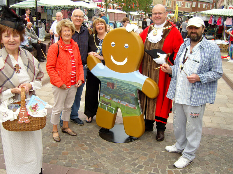 Ormskirk Gingerbread Festival 2017 1
