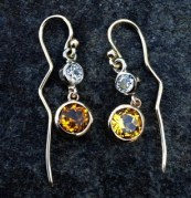 0913 topaz earrings