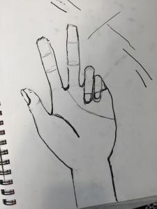 Step 1, contour