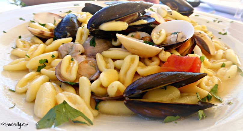 Cavatelli w mussels and clams