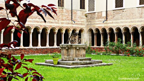 Cloisters at Chiesa Sant' Elena