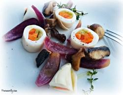 Calamari stuffed