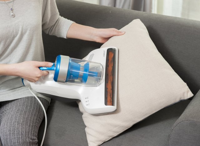 Image result for vacuuming pillows