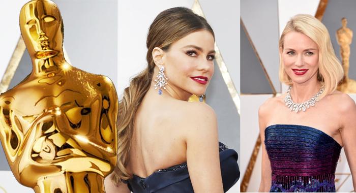 Las mejores joyas de los Oscar 2016