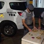 Em Jaú, Polícia Rodoviária intercepta veículos com ouro e joias roubadas