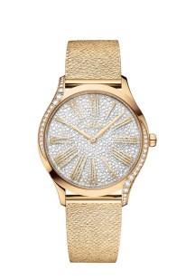 Orologio Omega Tresor con bracciale in maglia, foto da ufficio stampa Omega Watches