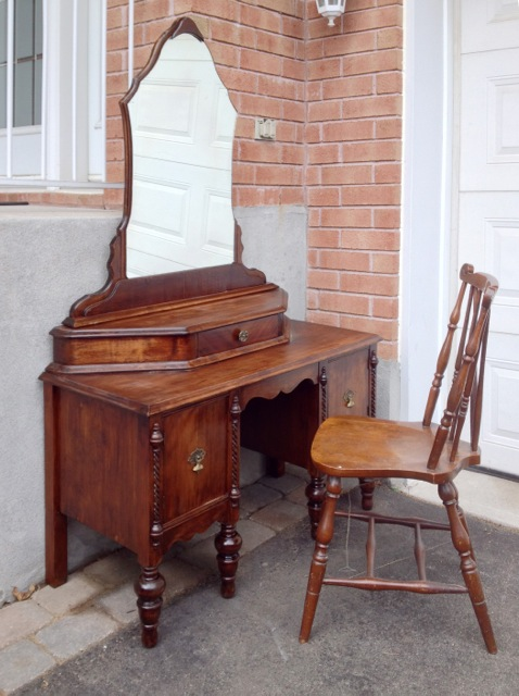 A DRESSING TABLE AND A BRIEF HISTORY
