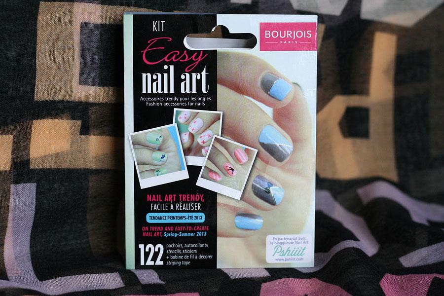 Kit Easy Nail Art Bourjois