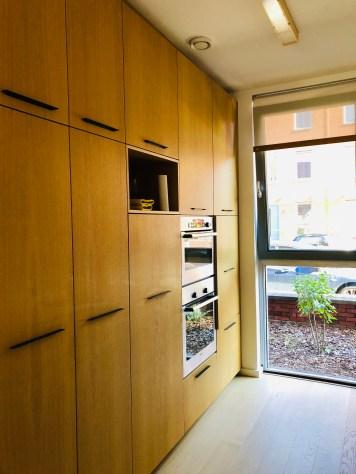 Kitchen wooden part