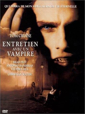 Affiche du film entretien avec un vampire (adaptation du roman d'Ann Rice par Neil Jordan)