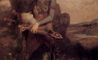 Orphée par Gustave Moreau