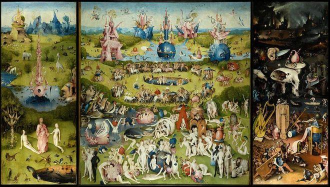 Le jardin des délices (Jérôme Bosch)
