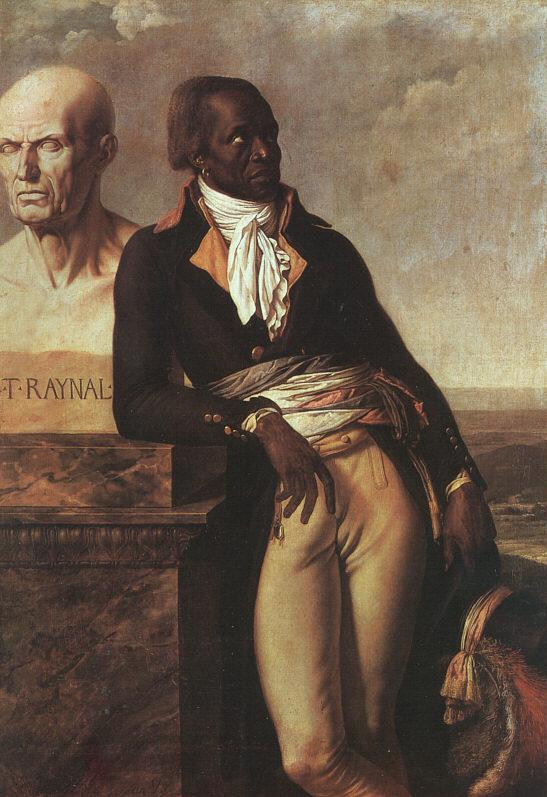 Jean-Baptiste Belley, par Anne-Louis Girodet-Trioson (Source : Wikimedia commons)