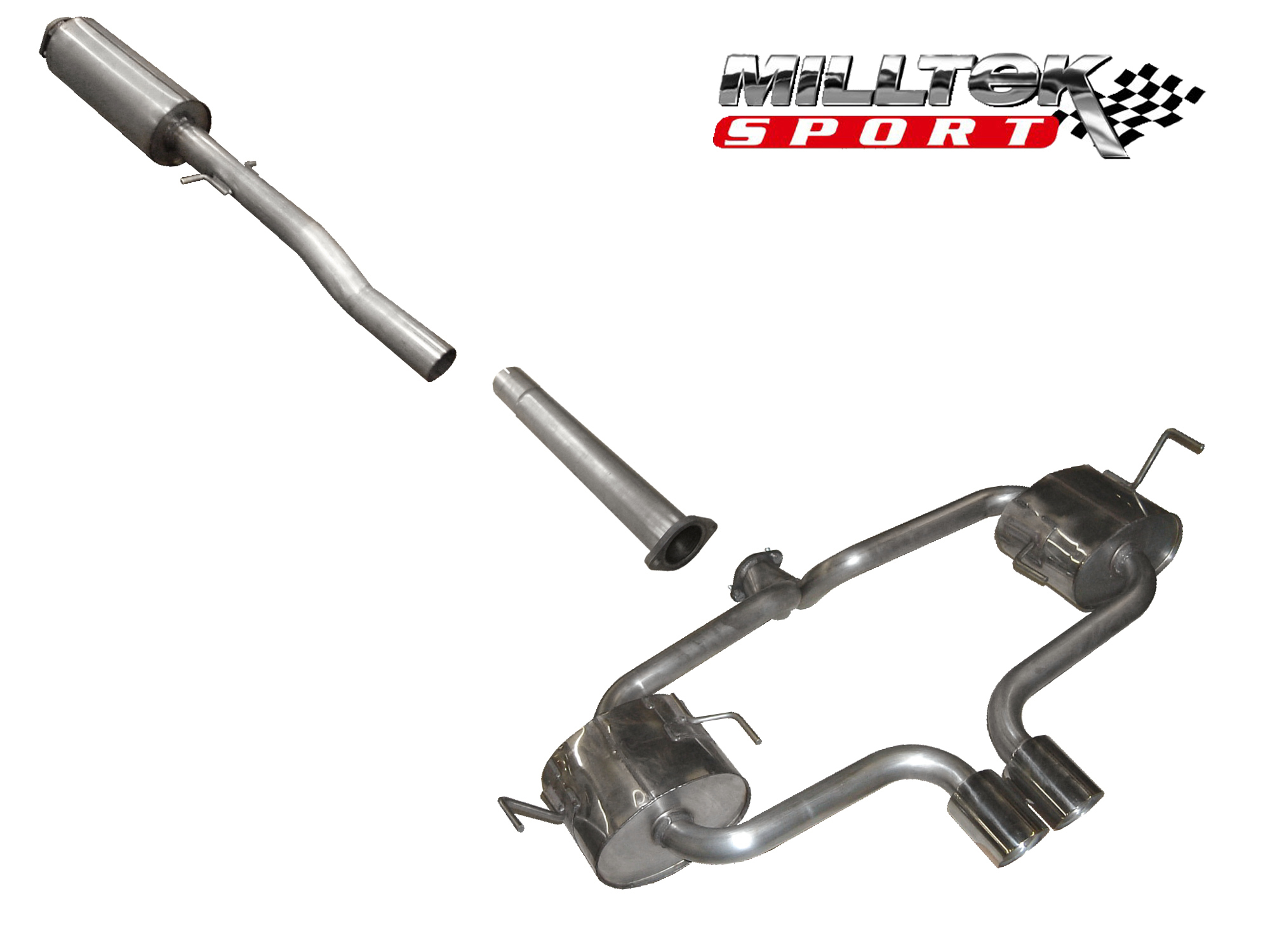 Milltek R53 Catback Exhaust Spare Parts Msm