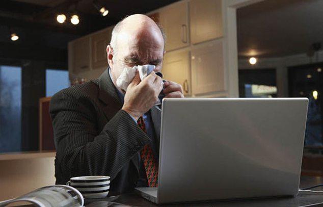allergia munka közben