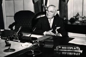 Harry Truman: The Buck Stops Here