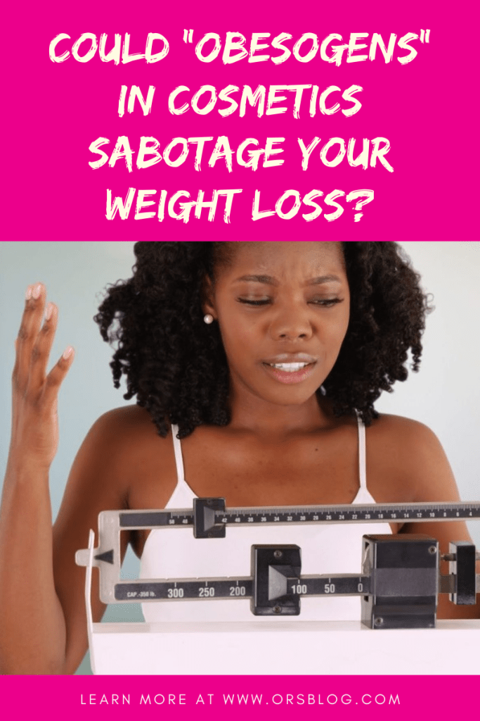 Could Obesogens in Cosmetics Prevent You from Losing Weight?