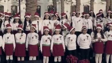 ترنيمة بابا نويل - كورال أطفال الراعى - كريسماس2015-2016 - قناة كوجى القبطيه الرثوذكسيه للأطفال
