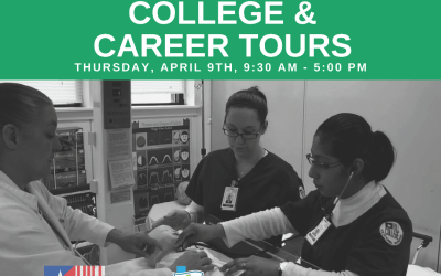POSTPONED!!! EOC April College and Career Tour: Healthcare Careers