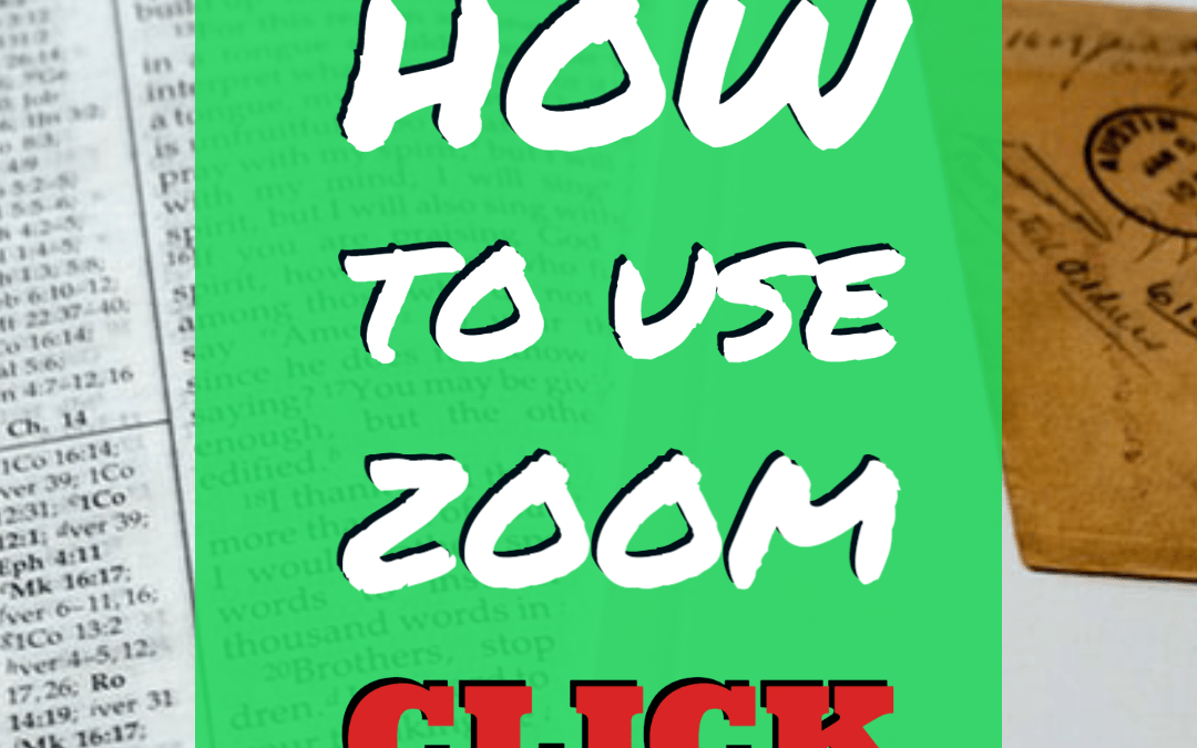 Learn to use ZOOM!