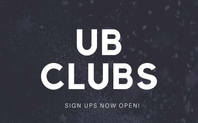 UB CLUBS ARE HERE!