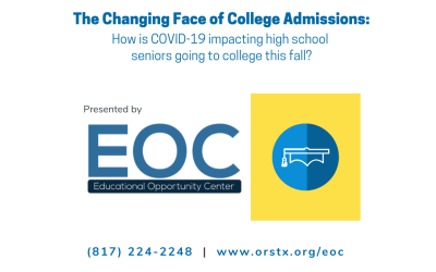 EOC Webinar Series: The Changing Face of College Admissions