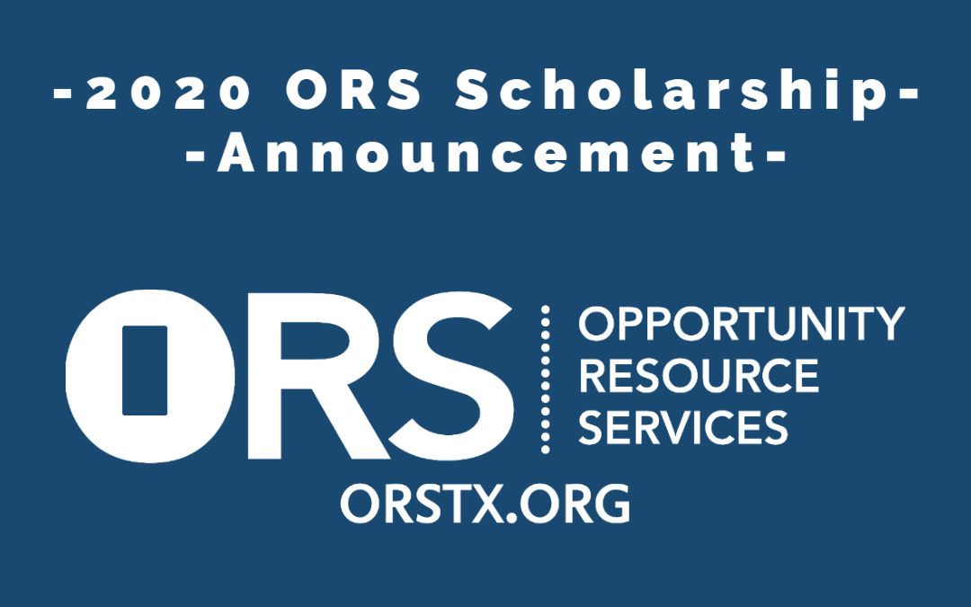 The ORS 2020 Board of Trustees Scholarship Recipients