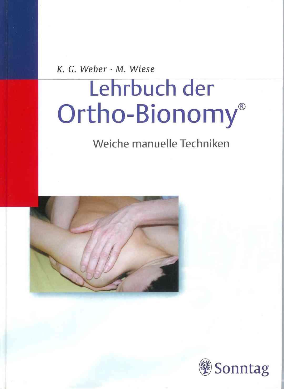 """Livre """"Lehrbuch der Ortho-Bionomy ® - Weiche Manuelle Techniken"""""""