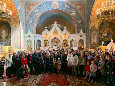 Florence Parishioners at First Archpastoral Visit