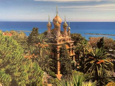 Sanremo Church over Sea