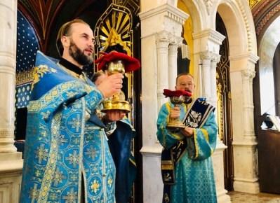 Holy Communion, Annunciation in Geneva, 2019