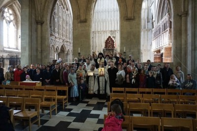 Diocesan Pilgrims to St Alban's Shrine, 2019