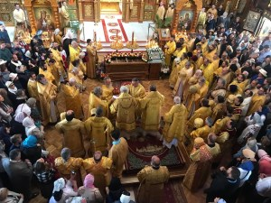 Bishop Irenei takes part in a Regular Session of the Holy Synod and 25th Anniversary of St John