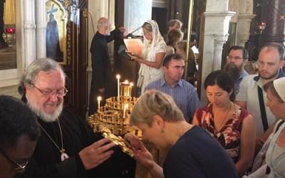ЖЕНЕВА: Архиепископ Оттавский и Канадский Ириней посетил кафедральный собор Женевы | GENEVA: Archbishop Irenei of Ottawa and Canada visits the Cathedral