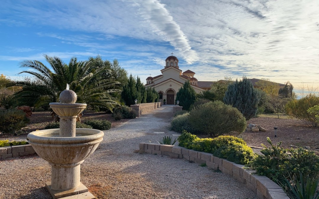 Bishop Irenei to Take Part in the Consecration of the St Paisius Monastery Main Church in Arizona