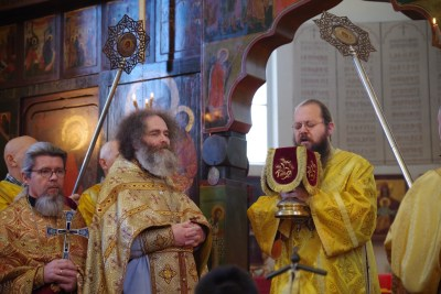 Great Entrance of the Divine Liturgy at the Memorial Church, Brussels